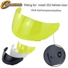 Motorhelm Vizier Montage Voor Ls2 352 & 351 & 369 & 384 Casco Lens Vizieren Capacete Bril Helm Accessoires & onderdelen