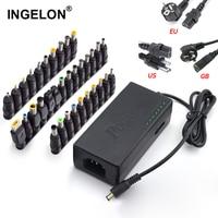 Ingelon 34pcs Universal Laptop Notebook 12v to 19v 20v 24v Input DC Plug Set Jack Tips Lenovo Toshiba Dell HP Asus Most Laptops