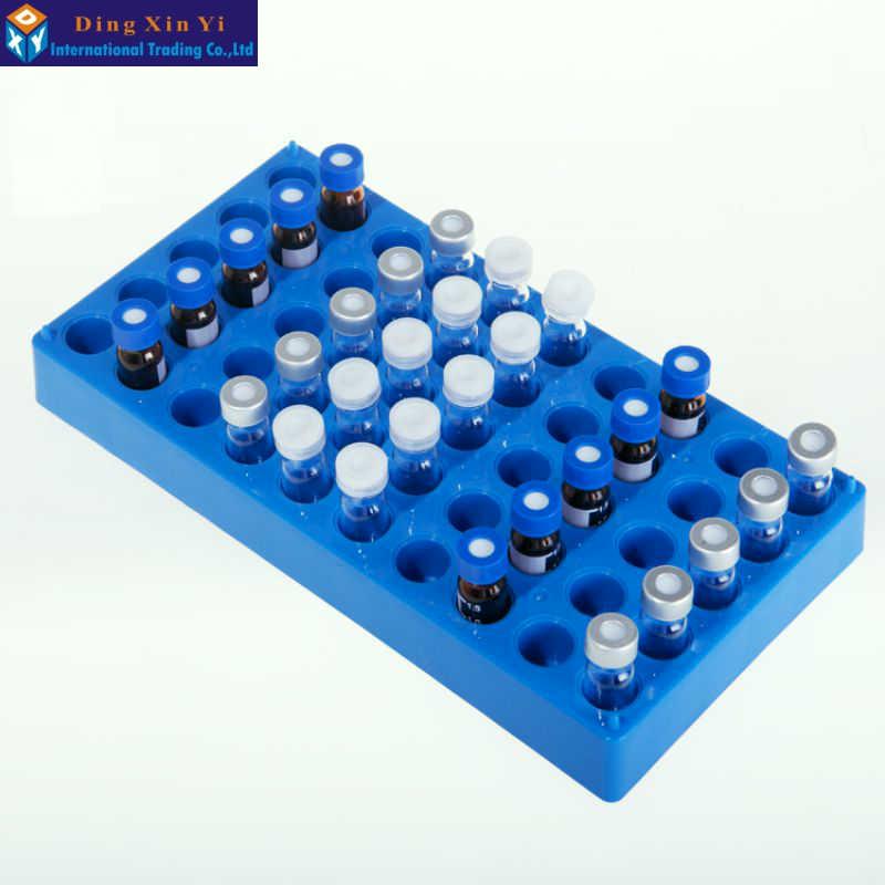 50hole 2ml 12.2mm*15mm sample bottle rack  Bayonet chromatographic bottle rack autosampler headspace vials rack without bottles