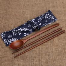 2 pièces/ensemble pique-nique articles de table voyage randonnée Camping couverts ustensiles Portable en plein air vaisselle vaisselle baguettes cuillère ensemble