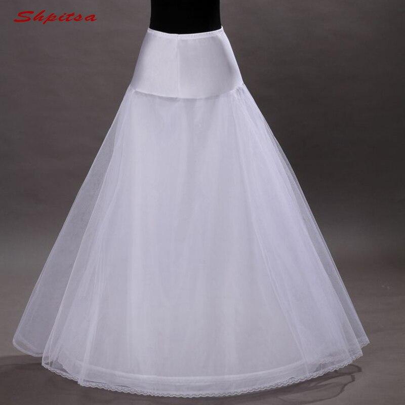 Branco ou preto tule nupcial pettycoat para vestido de casamento longo mulher crinoline underskirt meninas saia hoop pettycoat