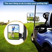Новинка-зеркала для гольф-карт-универсальное складное зеркало с боковым видом для гольф-картов, клубных автомобилей, Ezgo, Yamaha, Star, Zone Carts