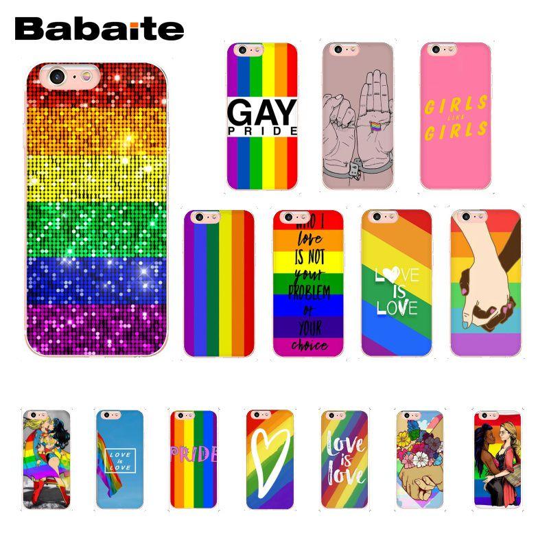 Чехол для телефона Babaite Gay Lesbian LGBT Rainbow Pride ART Для iphone 11 Pro 11Pro Max 8 7 6 6S Plus 5 5S SE XR X XS MAX