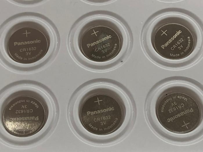 20pcs/lot New Original Panasonic CR1632 1632 DL1632 3V Lithium Batteries Cell Button Coin Battery