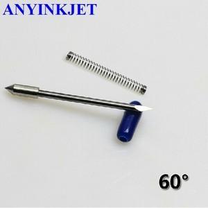 10 pcs 60 degree Graphtec CB09 Blade with spring for CB09 GRAPHTEC VINYL CUTTER PLOTTER