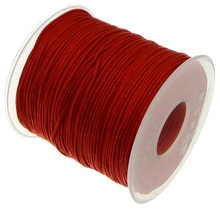 100 yards 1MM Nylon Cord String Strap Wholesale Necklace Rope Bead Fit European Bracelet DIY