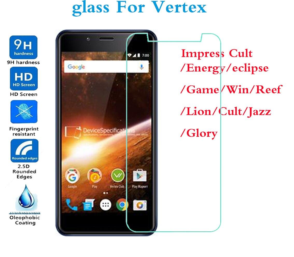 Vertex Impress vidrio templado VertexImpress energía eclipse juego Win Reef León Cult Jazz Glory gran calidad endurecida película