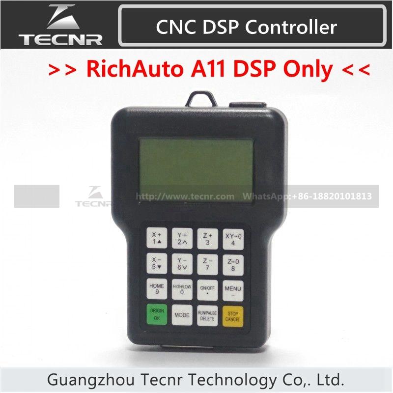 RichAuto A11 DSP CNC controller A11S A11E only DSP panel KEYPAD remote TECNR