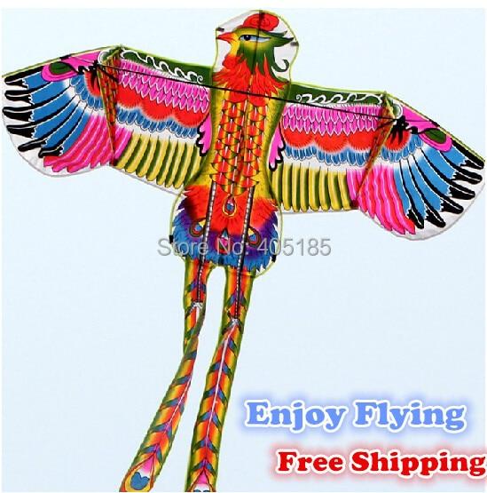 2015NEW zabawy na świeżym powietrzu sport moc Phoenix/zwierząt latawce z uchwytem i struny dobre latanie darmowa wysyłka