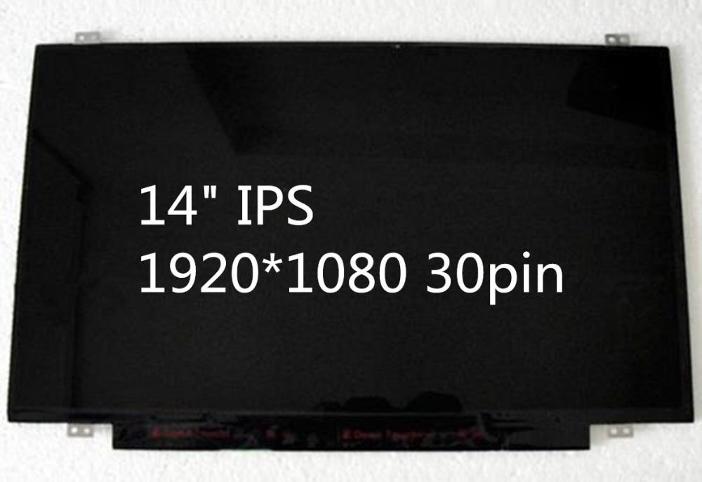 "14"" LED Screen ips display N140HCE-EAA EAB fit B140HAN01.2 B140HAN01.1  LP140WF1 SPK1 SPU1  30pin 1920*1080 IPS Screen"