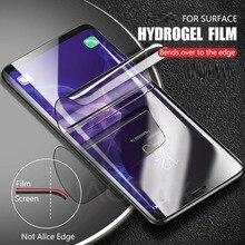 3D note9 закаленное стекло для samsung galaxy note 9 note8 S8 S9 plus Защитная пленка защита изогнутые края