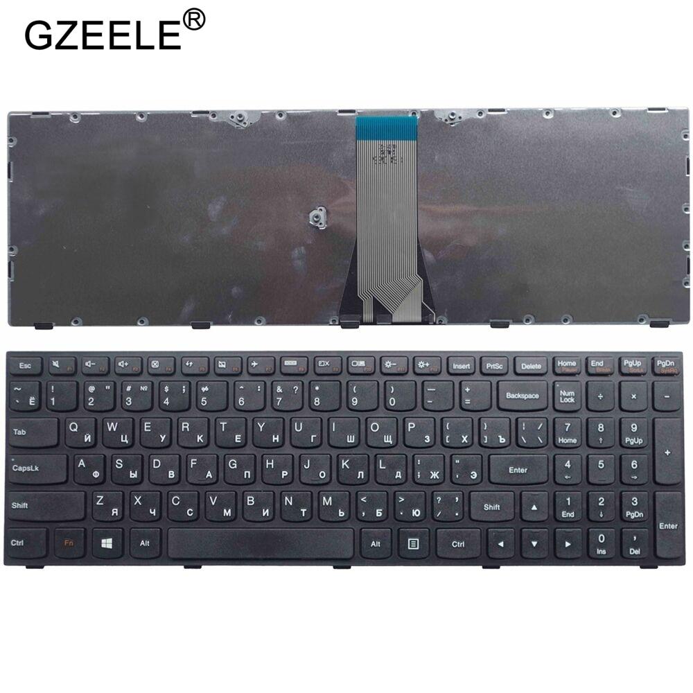 GZEELE RU laptop keyboard for LENOVO B51 B51-30 B51-35 B51-80 B50-45 B50-70 Z50-70 Z50-75 T6G1 G50 B71-80 RU russian notebook недорого