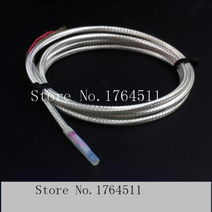 [BELLA] tres cables Pt100 escudo plateado resistente al agua ácido y alcalino transformador sonda de temperatura barra sensor de temperatura --