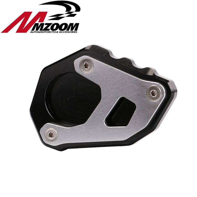 Motocicleta pedal pad placa de soporte lateral soporte de pie soporte de Extensión Para KTM 1050 1090 1190 1290