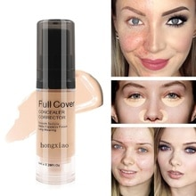Visage couverture complète 8 couleurs liquide correcteur maquillage 6ml yeux cernes crème visage correcteur imperméable maquillage Base cosmétique