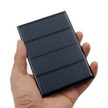 12V 1,5 W Solar Panel Tragbare Mini Sunpower DIY Modul Panel System Für Solar Lampe Batterie Spielzeug Telefon Ladegerät solar Zellen