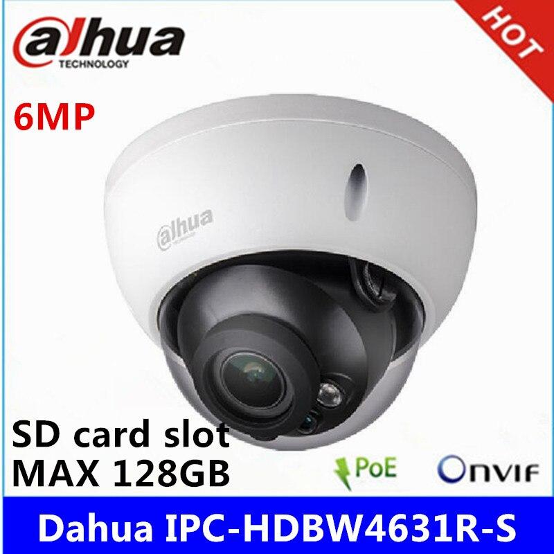 Dahua IPC-HDBW4631R-S cámara IP de 6MP IK10 IP67 ranura SD POE incorporada reemplazar IPC-HDBW4431R-S cámara CCTV