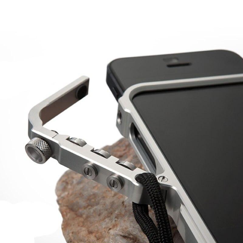 Gatilho de metal pára-choques para iphone 6 s plus m2 4th design premium aviação alumínio pára-choques caso telefone edição tática
