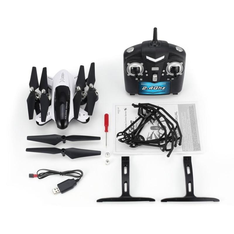 720P WIFI FPV quadcopter helicóptero Drones con cámara HD cámara de altura fija giroscopio de seis ejes modo sin cabeza Selfie Drone Juguetes