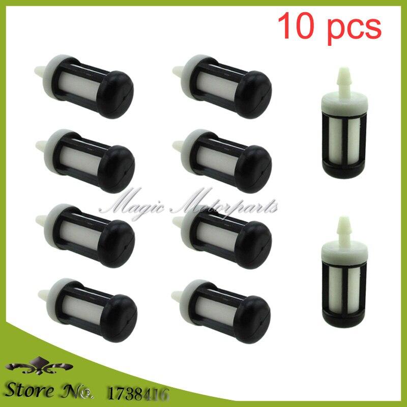 Топливный фильтр для Stihl BR500 BR550 BR600 BR420 BR400 BR380 BR320 BR340 BG45 BG46 BG55 BG56 BG66 BG72 BG86, 10 шт.