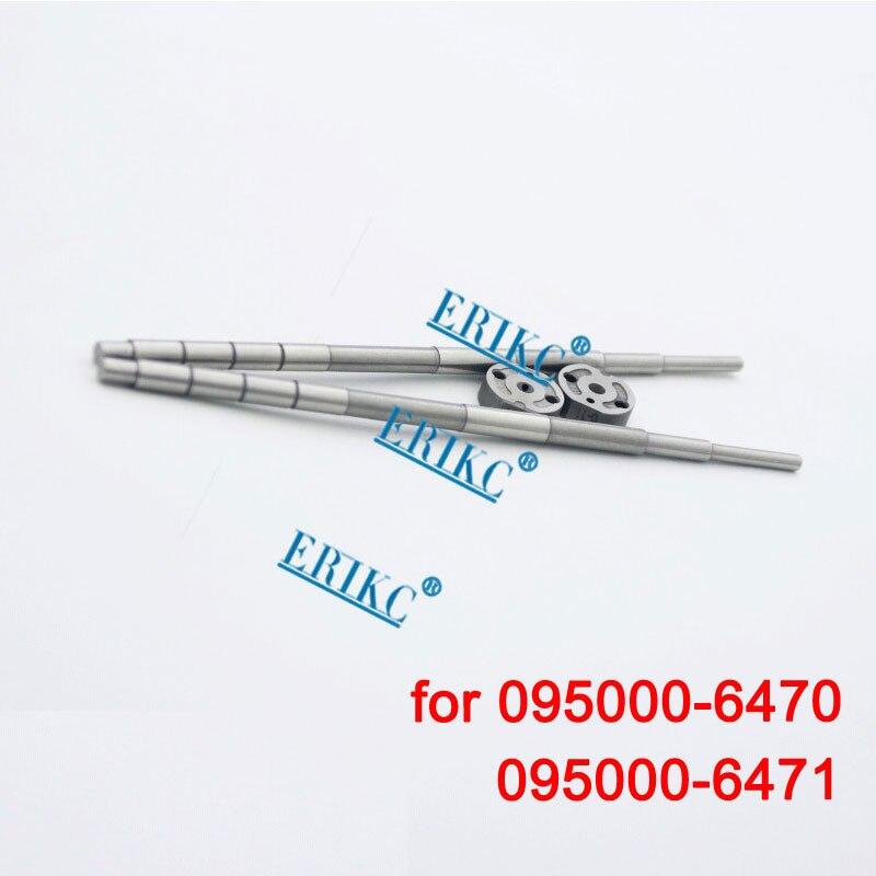 Auto bomba de placa de orificio 31 # para 095000-6470, 6471 CR inyector 66,7 Mm válvula Rod 6471 para RE546777 RE528408 RE529151 SE501948