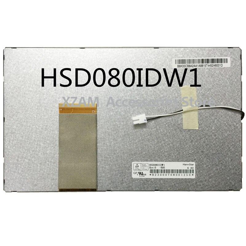 Original e Novo Hannstar HSD080IDW1-C01 8 polegada tela de LCD para Tablet PC