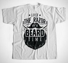 Barbe Temps T-Shirt Wei Hipster Friseur Barber BARBIER SALON de COIFFURE VOLLBARTsummer offre spéciale Nouveau Tee Impression