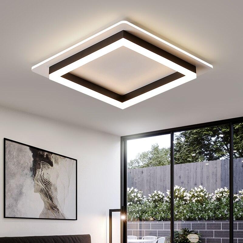 مصباح سقف أكريليك أبيض بتصميم حديث ، إضاءة زخرفية داخلية ، مثالي للممر أو الشرفة أو الردهة أو غرفة النوم.