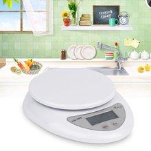 Balance de poids électronique de Balance postale de régime alimentaire de cuisine numérique 5000g/1g de qualité supérieure