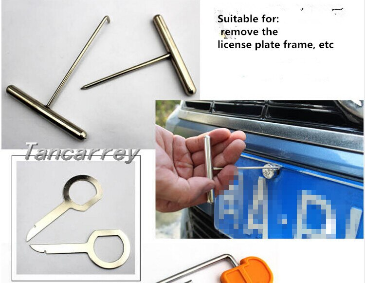 12PCS/Set Car Panel Pry Tool Styling For kia optima audi a6 c6 mk7 golf snowboard  new nissan fiesta 2015 ford  Accessories