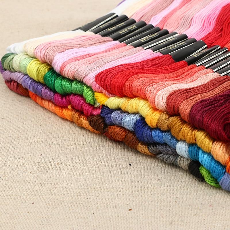 Нитки для вышивки крестом уникальный стиль 100 Похожие DMC якорь крестиком хлопок вышивка крестиком нитки для вышивания крестиком