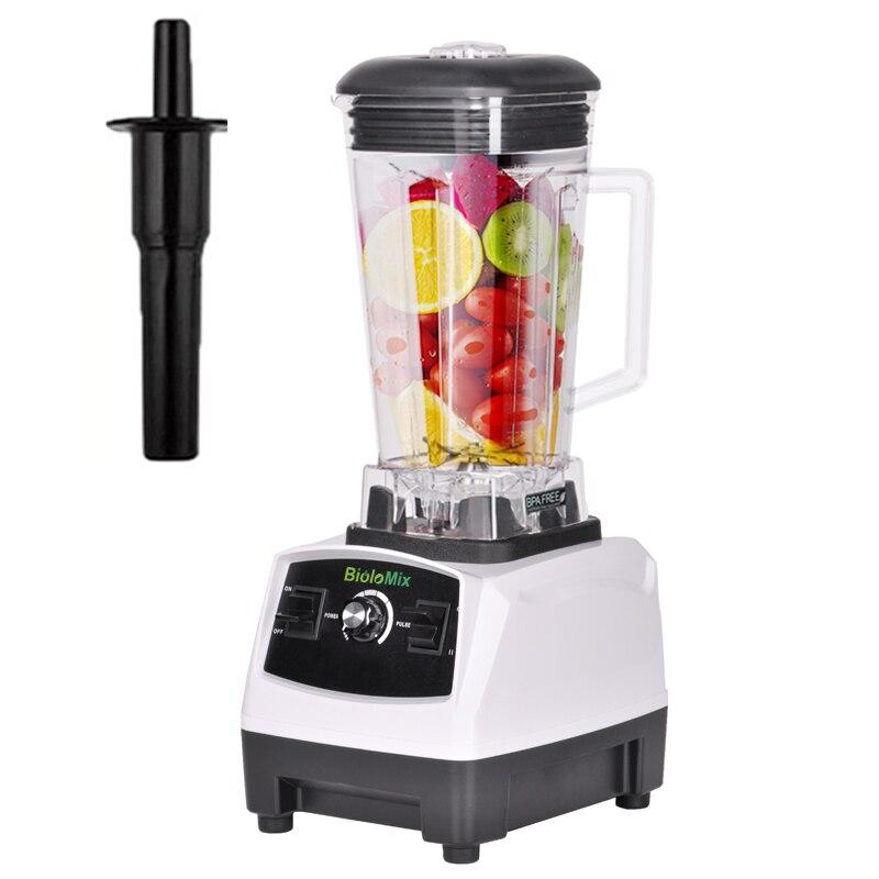 Mezclador de licuado profesional de alta potencia, procesador de frutas, batidos de hielo, 3HP, 2200W, libre de BPA, enchufe europeo/estadounidense/ru/AU