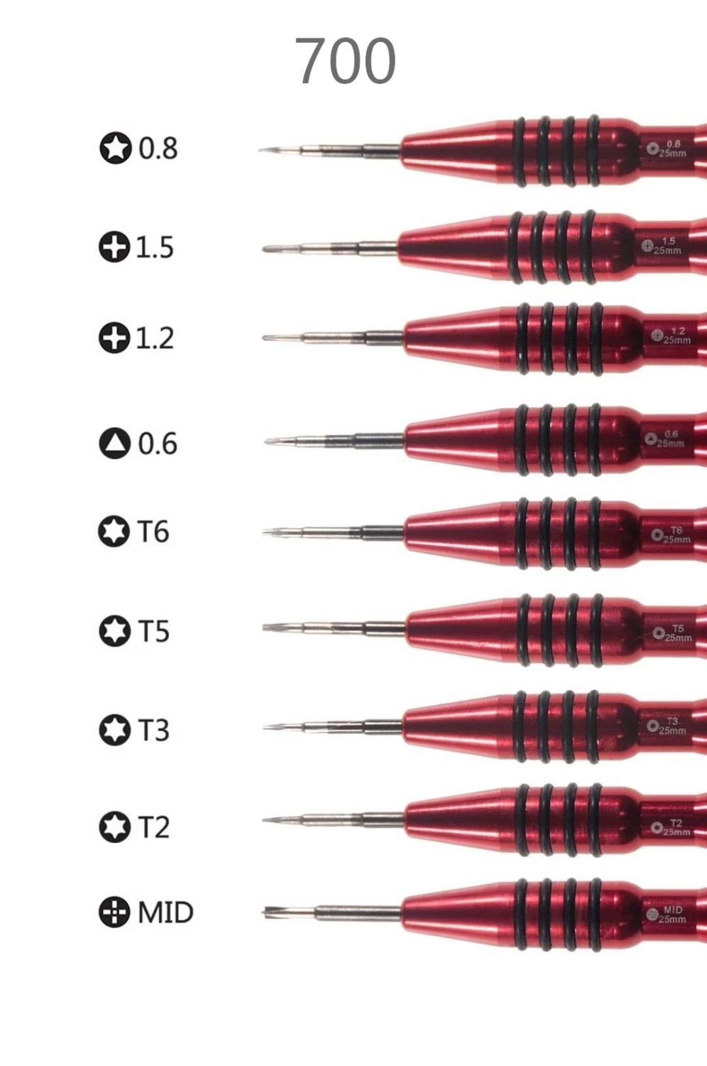 High Quality Professional Mobile Phone Repair Screwdriver for Smart Phone Disassemble Opening tool