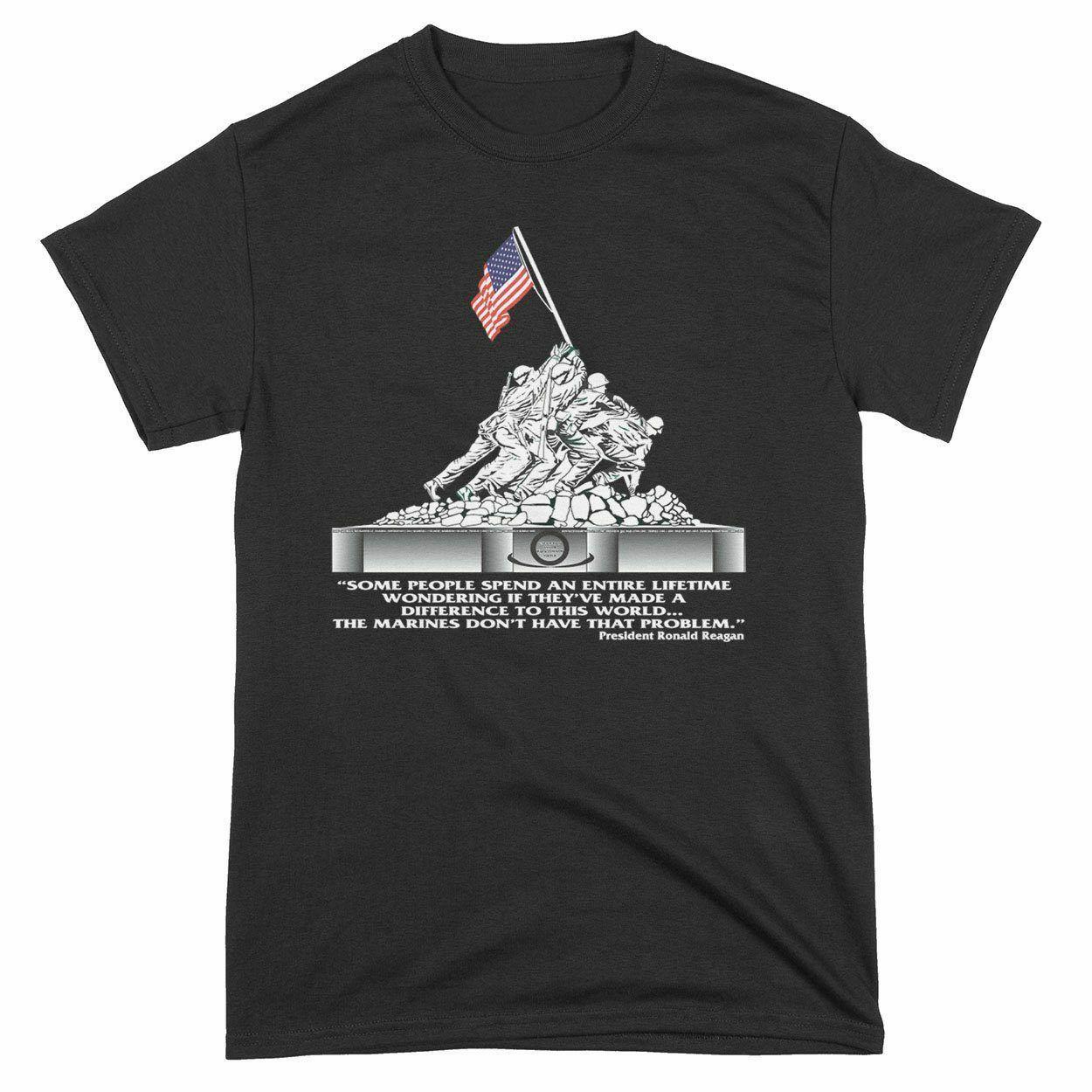 Imagen de Iwo Jima Campaign Memorial camiseta para hombre talla S-3XL