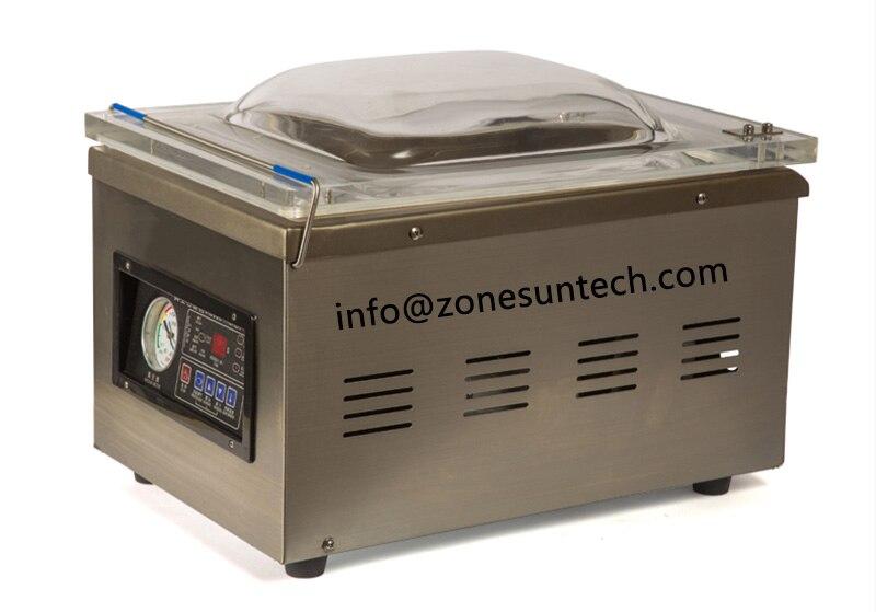 ZONESUN DZ-260 Table-style Vacuum packing machine stainless steel body vacuum sealing machine for food vegetable
