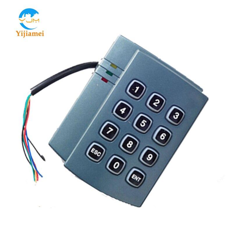 Автономный считыватель доступа, автономный считыватель контроля доступа с клавиатурой 125 кГц YJ501