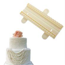 Belle chaîne de perles en Silicone   Moule à Fondant en Silicone, moule de décoration pour gâteau et chocolat, moule à perles, outils de décoration pour gâteau