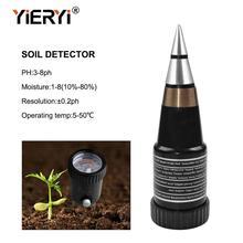 VT-05 yieryi Handheld Medidor de Umidade Do Solo Com Medidor de pH DIgital Medidor de PH Do Solo de pH Gama 3 ~ 8ph, faixa de umidade 1 ~ 8