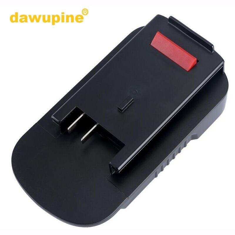 Conversor para Black Bateria de Lítio Dawupine Nicd Nimh Bateria Adaptador Decker 18 v Black Stanley Porter Cabo 20 Lbxr2021