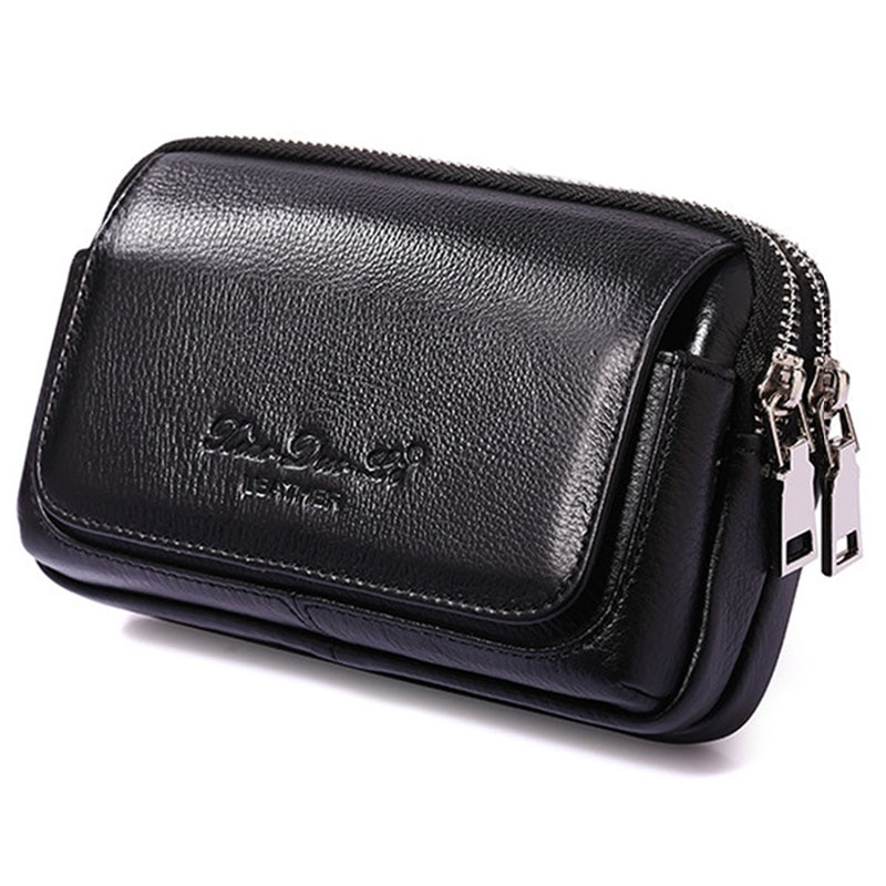 yiang new men s genuine leather cowhide vintage belt pouch purse fanny pack waist bag for cell mobile phone case cover skin Men Waist Pack Genuine Leather  Cell/Mobile Phone Cover Case skin Hip Belt Bum Purse Fanny Pack Waist Bag Pouch