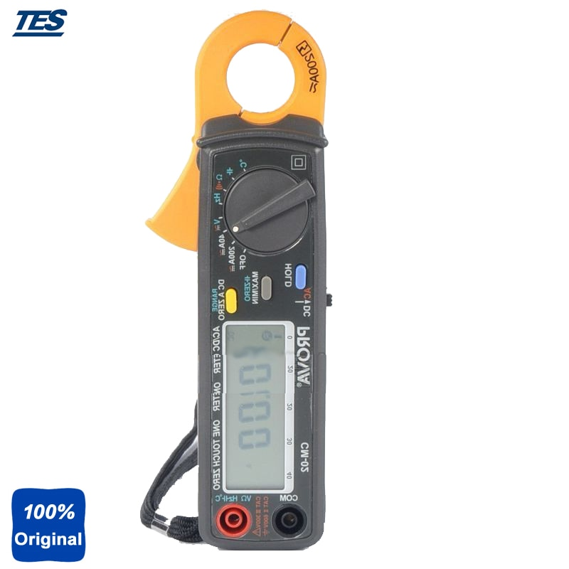 CM-02 Portable Current Voltage Resistance Frequency Automotive Clamp Meter