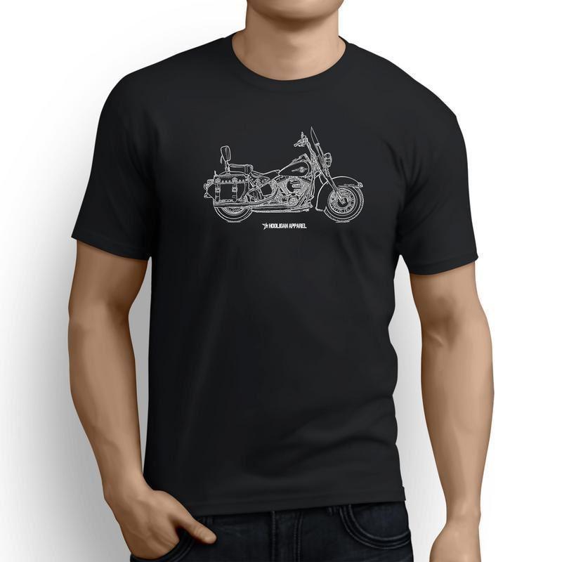2019 été mâle o-cou américain classique moto Fans héritage Softail classique inspiré moto sérigraphie t-shirts