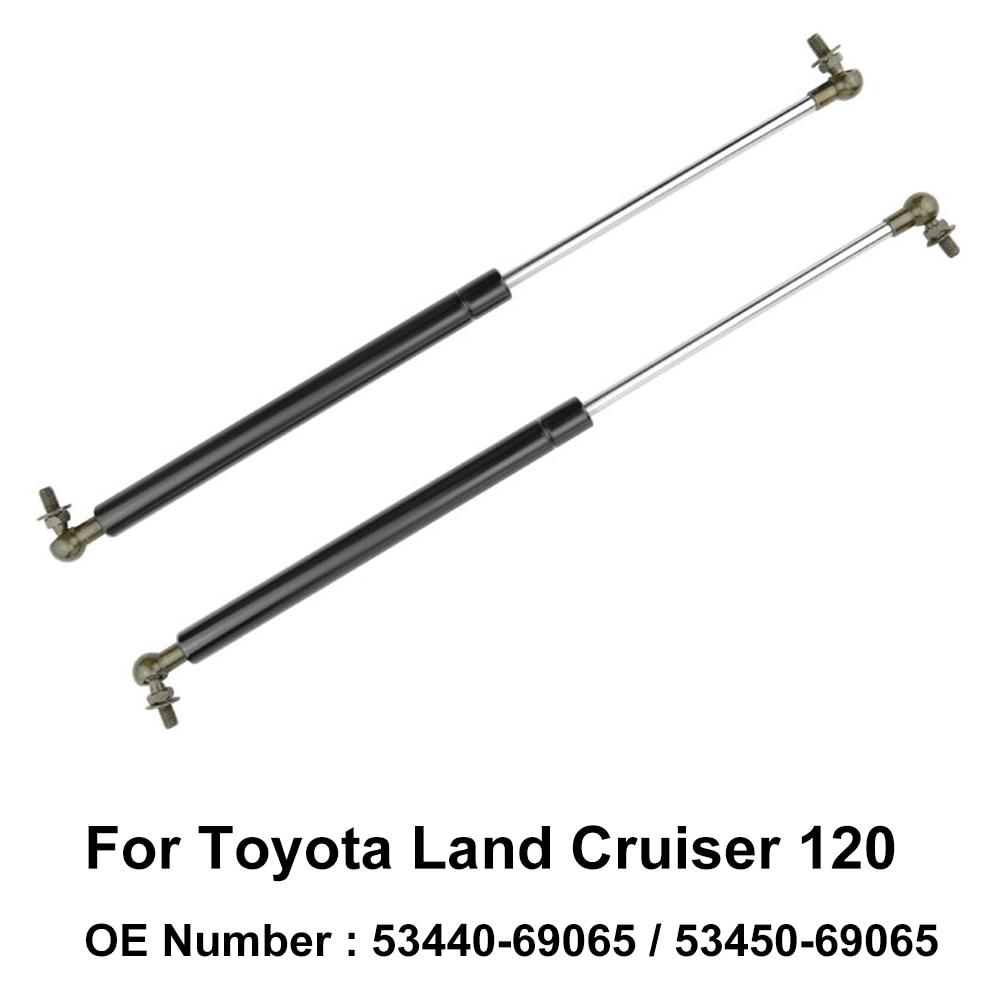 Soporte de resorte de Gas para cilindro de elevación de capó 53440-69065 53450-69065 para Toyota Land Cruiser 120 2004 2005 2006 2007 2008 2009