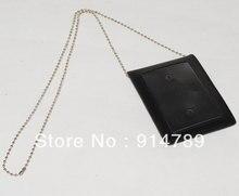 التكتيكية العسكرية الرقبة شارة id بطاقة الائتمان حامل القلم جلدية الحقيبة-32246