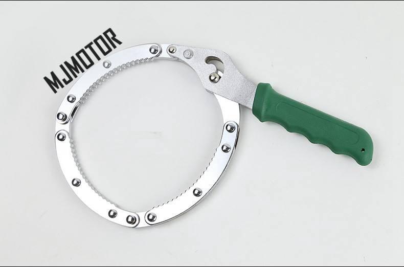 Llave de uso Universal para herramienta de extracción de filtro de aceite para BUICK HONDA TOYOTA FORD, pieza de motor de coche chino