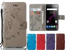 Etui papillon mode pour BQ aquaris U2 LITE M 2017 X PRO V Flip housse de protection en cuir pour téléphone portable