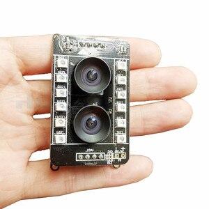 HQCAM 1080P mini USB Camera ATM camera Binocular camera IMU USB binocular vision, FPGA drive, synchronization, global exposure
