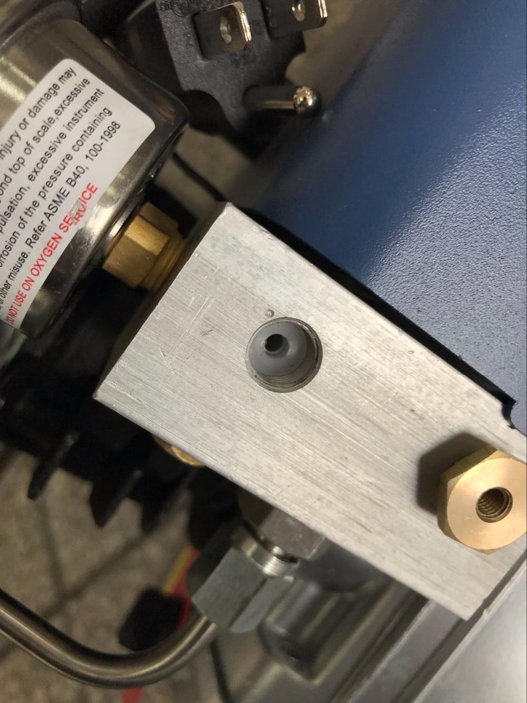 YONGHENG air pump Fittings  aluminum block