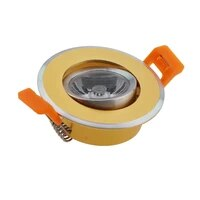 round aluminum adjustable 3w recessed led downlight low price cob led downlight