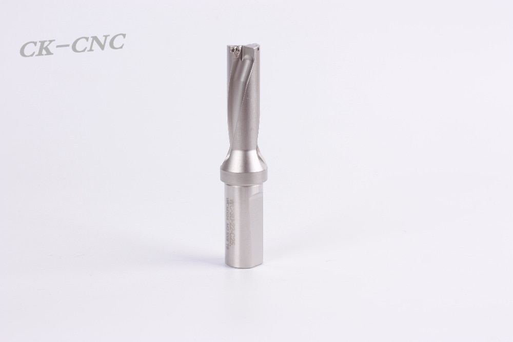 hight quality WC-3D-22 C25  U drill indexable drill CNC TOOL  22mm-3D Machining length=66mm for WCMX04  insert enlarge